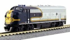 Kato N Scale Emd F7 At&Sf Bluebonnet Santa Fe Locomotive #325 From 106-6273