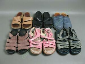 6 Pr Womens Dansko Size US 4 EU 35 Shoes Slip-In Open Back Strap Wholesale Lot