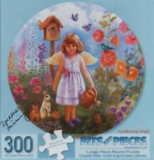 """""""GARDENING ANGEL"""" (Bits & Pieces) 300 pieces, great shape but missing 2 pieces"""