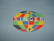 rare depliant SINGER  EXPO  BRUXELLES  1958