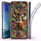 For Samsung Galaxy S8 Plus,Tri Max Transparent Full Body Case Cover BUCK CAMO