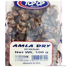 100 g AMLA DRY WHOLE INDIAN GOOSEBERRY Amalaki hair antioxidant health skin viTS