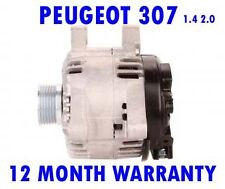 FITS PEUGEOT 307 SW CC 1.4 1.6 2.0 ESTATE 2001 2002 2003 2004 - 2015 ALTERNATOR