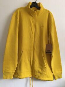New Mens VANS Skater Street Long Sleeve Versa Quarter Zip Sweatshirt Size Large