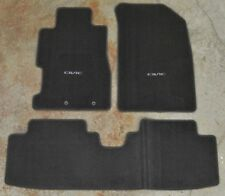 NEW OEM 2004-2005 2Door Honda Civic *NH167L* Carpet Floor Mats - 83600-S5P-A01ZA
