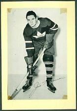 Jim Thomson 1944-64 Group 2 Beehive '44 NHL Hockey Photo EX Toronto Maple Leafs