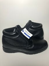 @@@NWOB - DREW SHOES TUCSON - MENS- DIABETIC - BOOT, BLACK, SIZE14M - LEATHER@@@