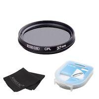 37mm Circular Polarizing CIR-PL CPL FILTER lenses for sony canon nikon+BOX+B