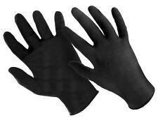 Nitril Einweghandschuhe Einmalhandschuhe puderfrei Größe XL - Schwarz Box a 100