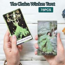 78 Cards The Chakra Wisdom Tarot Card Deck Home Party Family Board Game Cards