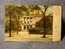 Vintage Postcard The Chicago Academy Of Science, Chicago, Ill.