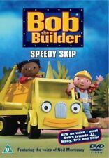 BOB THE BUILDER-SPEEDY SKIP (DVD-2003, 1-Disc) Region 2. Voice of Neil Morrissey