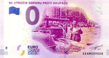 SLOVAQUIE 50. Výročie odporu proti okupácii, 2018, Billet 0 € Souvenir