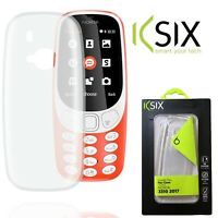 Ksix Flex Clear Cover For Nokia 3310 2017 Slim Tough Flexible Anti Scratch Case