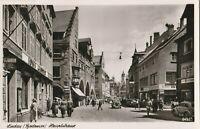 Ansichtskarte Lindau Bodensee Hauptstrasse 1955 verschickt nach Linz/Donau