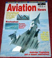 Aviation News 2008 August Austian Typhoon,Zurich Kloten,USAF