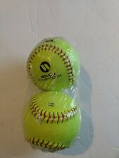 "Rawlings Ncaa Nc12Bb Recreational Softball New-Sealed 12"" Set of 2"