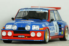 1:18 CUSTOM Code 3 RENAULT 5 Maxi TURBO Gr.B Tour De Corse Rally MODIFIED TUNING
