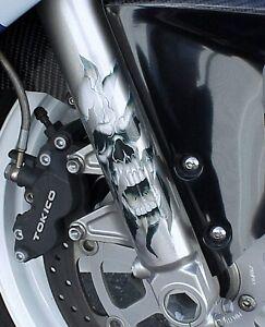 Honda CB 250 350 400 500 650 900 CBR 600 RR Shadow 750 Spirit 1100 FORK SKULLS