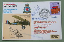 BERLIN AIRLIFT 25TH ANNIVERSARY COVER SIGNED BY WW2 LUFTWAFFE PILOT OTTO SCHULTZ