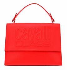 cavalli CLASS Viviane Medium Handbag Red
