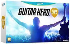 Guitar Hero Live + Chitarra  Nintendo Wii U Nuovo!!!!
