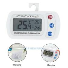 Waterproof Digital LCD Freezer Fridge Refrigerator Thermometer with Hanging Hook