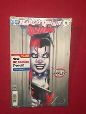 Harley Quinn and Deadshot #1 Walmart Variant Cover 3 Pack Comic Books DC Comics