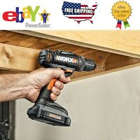 WORX 20V Li-Ion Cordless Drill and Driver 2 Speed 1.5Ah Lithium Ion Battery