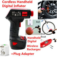 1x Portable Cordless Handheld Digital Car Tire Inflatable Pump Inflator Air Pump