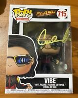 Carlos Valdes Signed The Flash TV Show The Vibe 715 Funko Pop - JSA NN27961