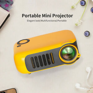 Mini Portable LCD Projector HD 1080P HDMI Home Theater Projectors AU Plug
