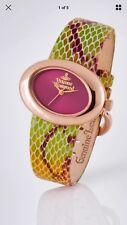 Vivienne Westwood Ellipse Rose Gold Watch
