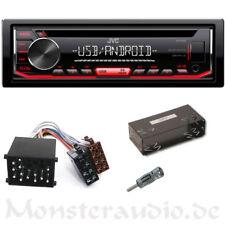 JVC Autoradio BMW 3er E30 7er E32 5er E34 CD MP3 USB AUX-IN Radio + Adapter