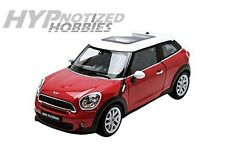 WELLY 1:24 MINI COOPER S PACEMAN DIE-CAST RED 24050