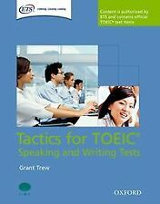 (PACK).TACTICS FOR TOEIC SPEAKING AND WRITING TEST. ENVÍO URGENTE (ESPAÑA)