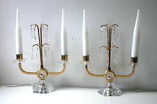 * UNE PAIRE DE LAMPES BOUT DE TABLE