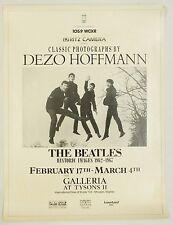 Classic Photographs Dezo Hoffmann The Beatles 1960's Tysons Vintage Poster
