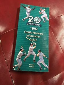 20TH ANNIVERSARY Seattle Mariners 1997 Information Guide MARINERS ALL-STARS