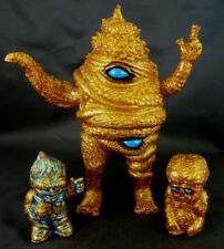 Paul Kaiju Scarab Unchiman Gold Lame Glitter Soft Vinyl w. Datadub Sofubi Figure