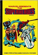 MARVEL PRESENTS THE SUPERHEROES Annual 1978 UK HARD COVER Back Issue