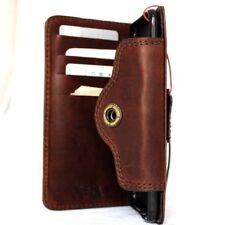 genuine vintage leather Case for Motorola Nexus 6 book wallet cover luxury Retro