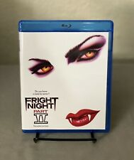 Fright Night Part II Part 2 blu-ray disc MOD with Extras VHS Artwork PLEASE READ