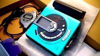 VINTAGE SHARP MINIDISC WALKMAN PLAYER RECORDER MD-MS701H