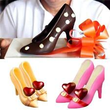 3D High Heel Shoe Chocolate Candy Cake Mould Decorating PC Jelly Ice Soap Mold.