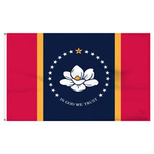 New listing Mississippi Flag 3x5ft Nylon - Us Made