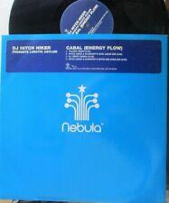 "DJ HITCH HIKER Pres LUNATIC ASYLUM ~ Cabal (Energy Flow) ~ 2 x 12"" PS - PROMO"