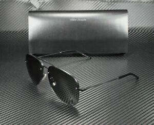 SAINT LAURENT CLASSIC 11 M 001 Black Aviator Unisex Metal 59 mm Sunglasses