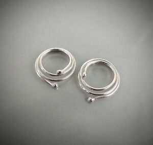 Non Piercing adjustable Nipple Ring Sterling silver