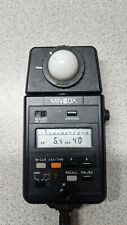 Minolta Auto Meter III F (Made in Japan) Good with Batteries Included